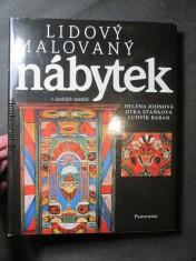 náhled knihy - Lidový malovaný nábytek v českých zemích : z muzejních sbírek