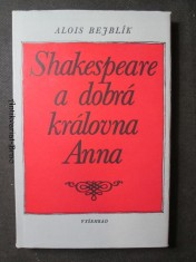 náhled knihy - Shakespeare a dobrá královna Anna