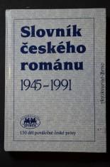 náhled knihy - Slovník českého románu : 1945-1991 : 150 děl poválečné české prózy