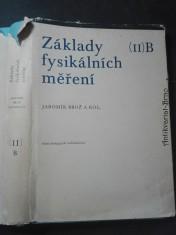 náhled knihy - Základy fysikálních měření (II) B