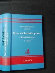 náhled knihy - Kurs obchodního práva - obchodní závazky, 5.vyd