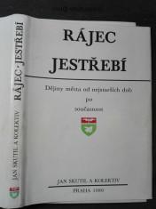 náhled knihy - Rájec-Jestřebí: Dějiny města od nejstarších dob po současnost