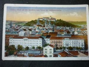 náhled knihy - Brunn. Blick auf den Spielberg vom Turme der  Jubiläumskirche