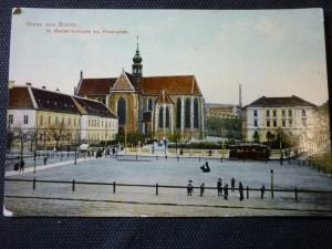 náhled knihy - Gruss aus Brunn-St. Mariahilferkirche am Klosterplatz