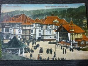 náhled knihy - Lázně Luhačovice:Hudební pavilon a minerální lázně