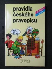 náhled knihy - Pravidla českého pravopisu stručně a nově