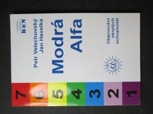 náhled knihy - Modrá Alfa. Objevování skrytých schopností