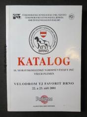 náhled knihy - Katalog 10. Moravskoslezské národní výstavy psů všech plemen. Brno 22. a 23. září 2001