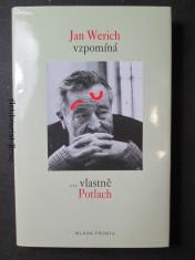 náhled knihy - Jan Werich vzpomíná ...vlastně Potlach