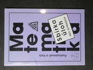 náhled knihy - Matematika. Sbírka úloh pro gymnázia. Posloupnosti a řady