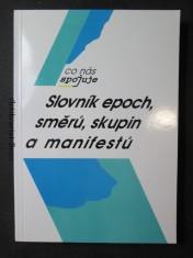 náhled knihy - Slovník epoch, směrů, skupin a manifestů