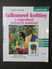náhled knihy - Balkonové květiny v originálních závěsných nádobách
