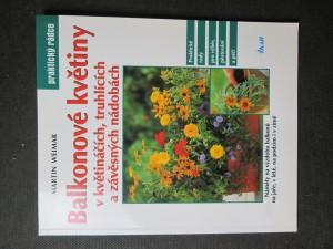 náhled knihy - Balkonové květiny v květináčích, truhlících a závěsných nádobách