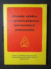 náhled knihy - Zásady výběru a systém přípravy pionýrských pracovníků