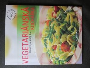 náhled knihy - Vegetariánská kuchařka. Inspirace pro každý den...