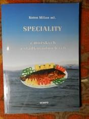 náhled knihy - Speciality z mořských a sladkovodních ryb