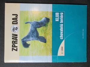 náhled knihy - Zpravodaj. Klub chovatelů teriérů 2/2000