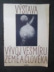 náhled knihy - Výstava Vývoj vesmíru, země a člověka