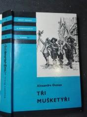 náhled knihy - Tři mušketýři I