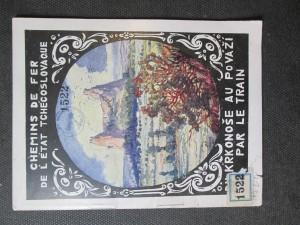 náhled knihy - Des monts du Krkonoše Jusqu'a. La Vallée du Pováží. Par le train