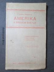 náhled knihy - Amerika v pravém světle. Žena v Americe. Americké školství