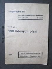 náhled knihy - 100 lidových písní