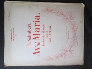 náhled knihy - Ave Maria pro housle s klavírem