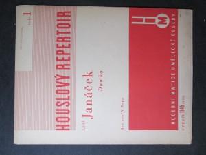 náhled knihy - Houslový repertoir č. 1 - Leoš Janáček - Dumka