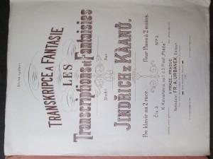 náhled knihy - Transkripce a fantasie. Pro klavír na 2 ruce