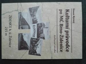 náhled knihy - Kulturní průvodce po MČ Brno - Židenice - kulturní stezka