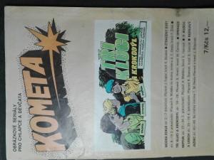 náhled knihy - Kometa - obrázkové seriály pro chlapce a děvčata