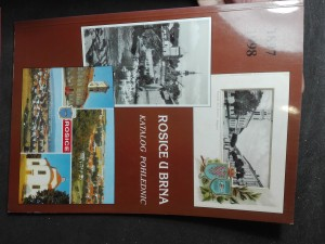 náhled knihy - Rosice u Brna - katalog pohlednic (1897 - 1998)