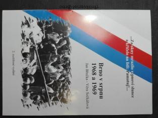 náhled knihy - Brno v srpnu 1968 a 1969