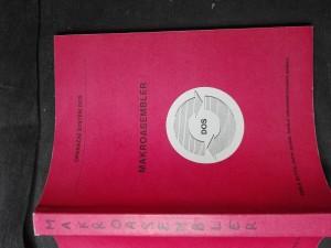 náhled knihy - Makroasembler: Příručka pro potřebu uživatelů operačního systému DOS šestnáctibitových počítačů