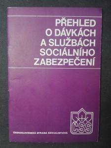 náhled knihy - Přehled o dávkách a službách sociálního zabezpečení