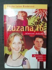 náhled knihy - Zuzana, 16 - televizní hvězda