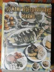 náhled knihy - Co máme vědět o přípravě pokrmů : Technologie přípravy jídel