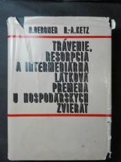 náhled knihy - Trávenie, resorpcia a intermediárna látková premena u hospodářských zvierat