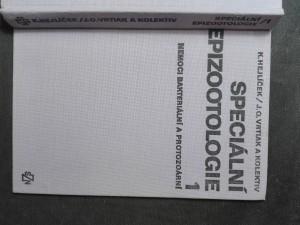 náhled knihy - Speciální epizootologie 1. nemoci bakteriální a protozoární