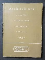 náhled knihy - Architektura v českém a slovenském národním dědictví