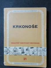 náhled knihy - Krkonoše : oblastní turistický průvodce