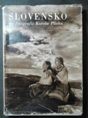 náhled knihy - Slovensko vo fotografii Karola Plicku