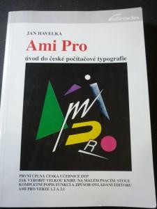 náhled knihy - Ami Pro : úvod do české počítačové typografie