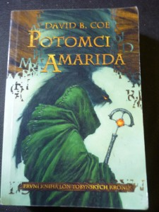 náhled knihy - Potomci Amarida : [první kniha Lon Tobynských kronik]