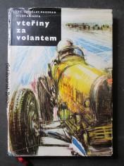 náhled knihy - Vteřiny za volantem