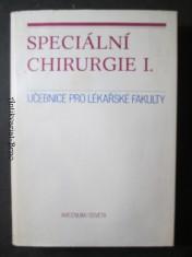 náhled knihy - Speciální chirurgie I. Učebnice pro lékařské fakulty
