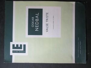 náhled knihy - Valse Triste. Violino E piano / K. Šrom