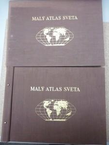 náhled knihy - Malý atlas světa 1.,2.
