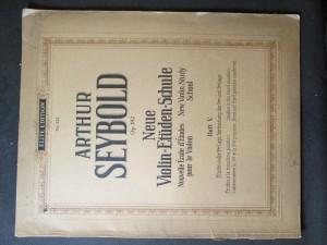 náhled knihy - Neue Violin Etuden Schule. Op. 182. Heft V.