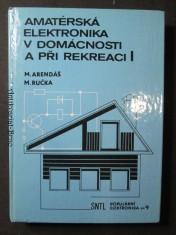 náhled knihy - Amatérská elektronika v domácnosti a při reakci I